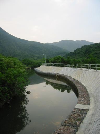 River near Ham Tin