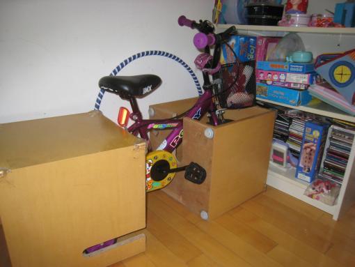 Bike storage at home